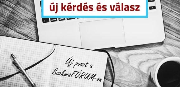 SzakmaFÓRUM.hu új bejegyzés: A pénzügyi-számviteli ügyintéző OKJ tanfolyamért kaphatok plusz pontot a felvételin?
