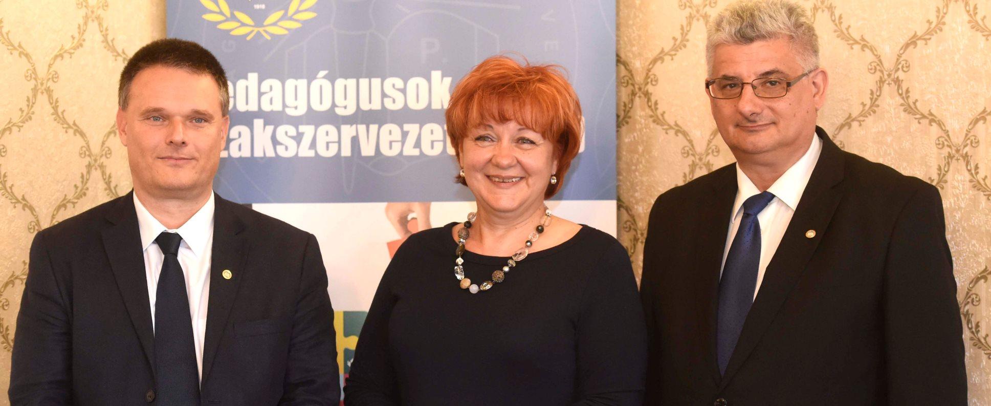 A PSZ új vezetői