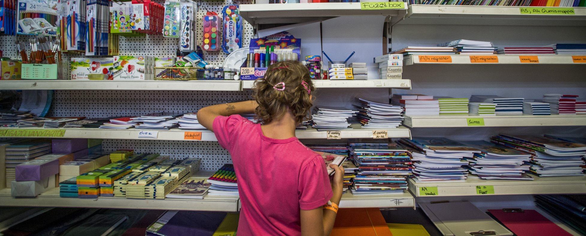 Tanévkezdés - Tanszervásárlás Budapesten
