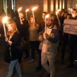 A mindenkinek elérhető felsőoktatásért demonstráltak Budapesten