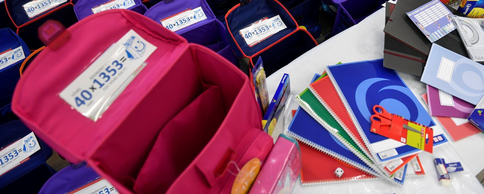 Az Ökumenikus Segélyszervezet adománygyűjtéssel segíti ezer rászoruló gyereknek az iskolakezdést