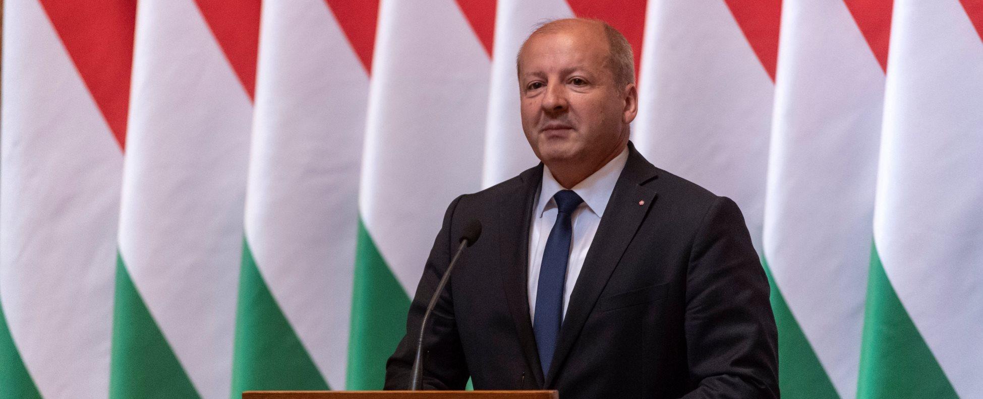 A Honvéd Vezérkar főnöke tisztség átadás-átvételi ünnepsége