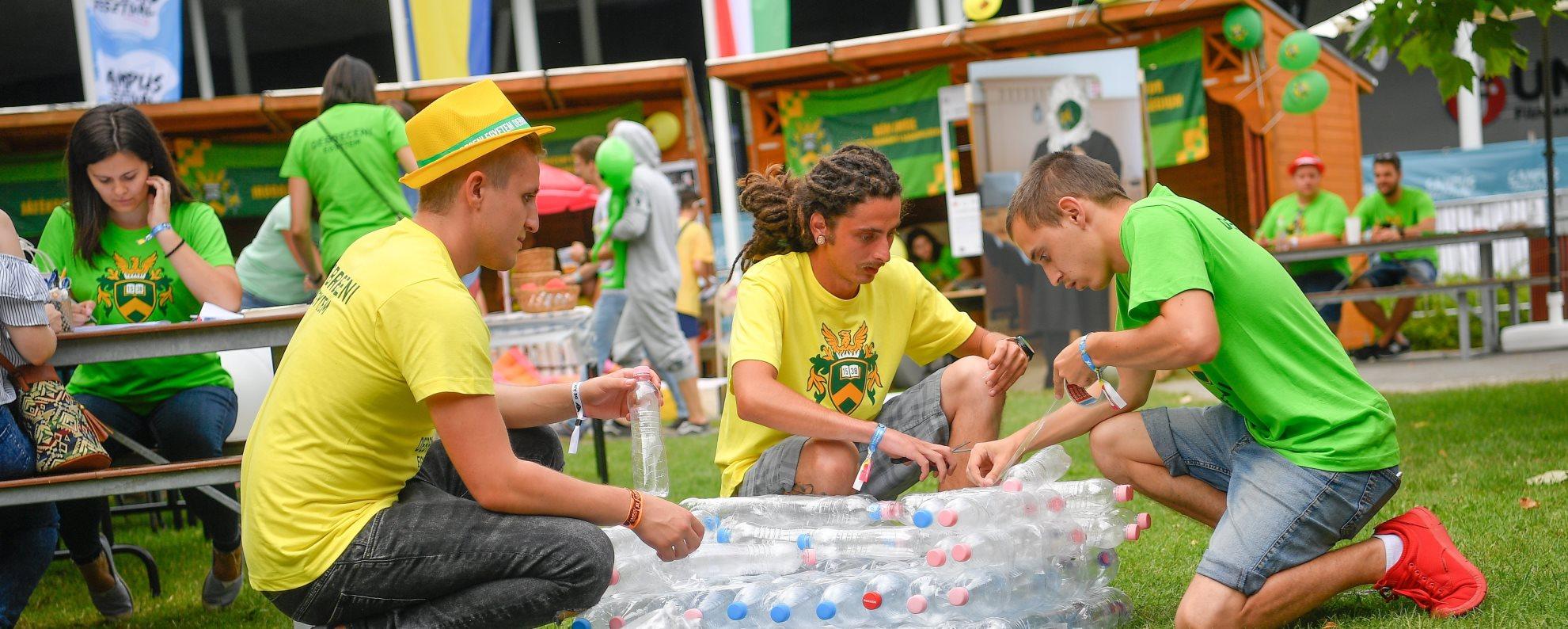Campus Fesztivál - Megnyílt az Egyetem-tér a nulladik napon