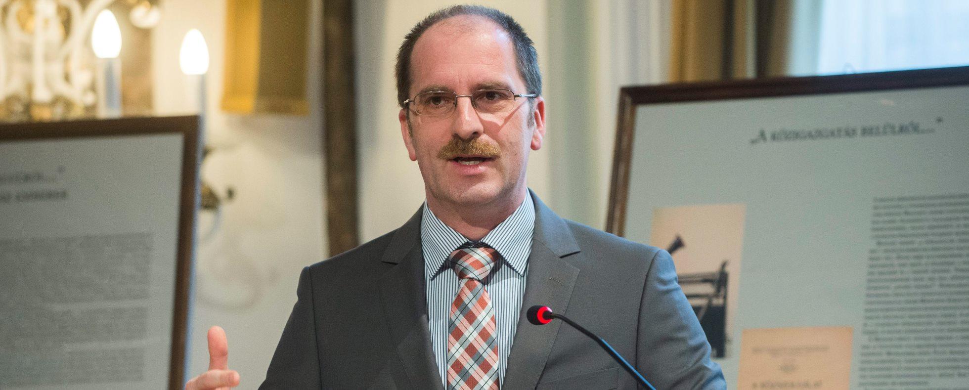 Lemondott Patyi András, az NKE rektora