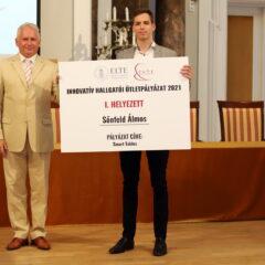 A Smart Tables projekt nyerte az ELTE innovatív hallgatói díját